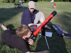 Working with A Telescope