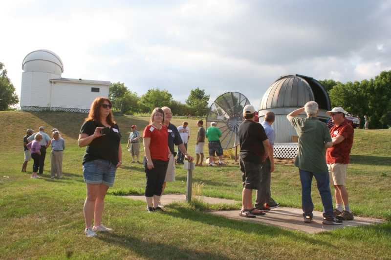 Astronomers and observatories