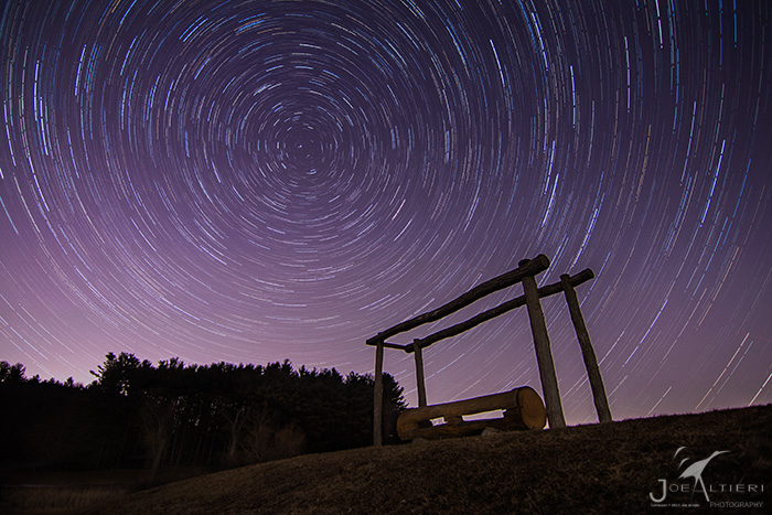 Star Trails over Mendon Ponds - Joe Alteri