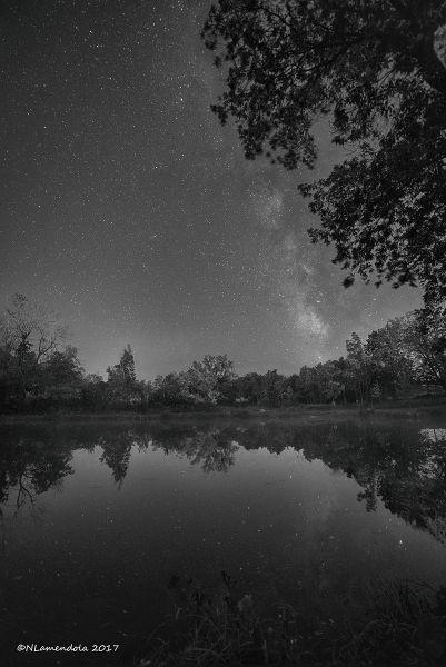 Milkway over Tubbs PArk - Nick Lamendola