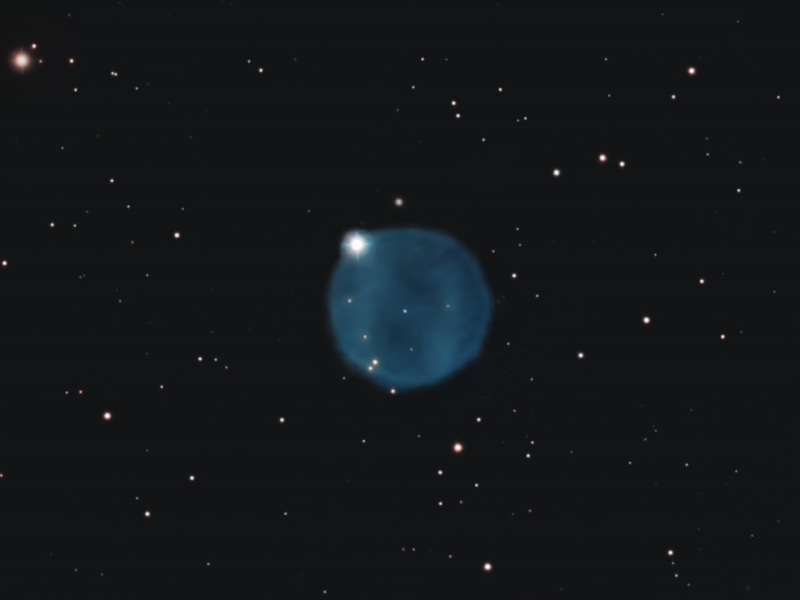 Abell 33 Planetary Nebula, by Andy Chapman