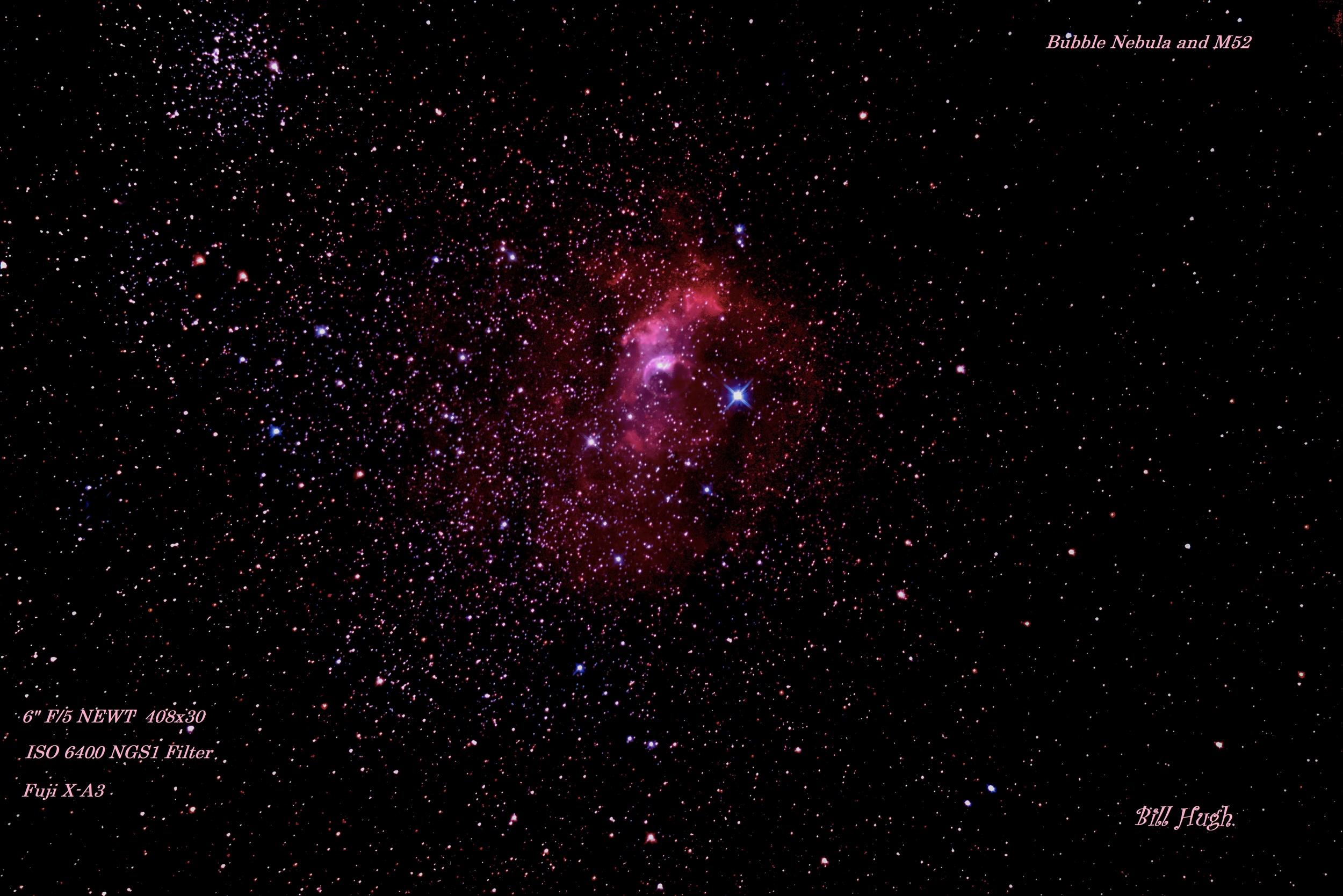 Bill Hugh- Bubble Nebula